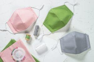 Zero waste face mask, virus protection